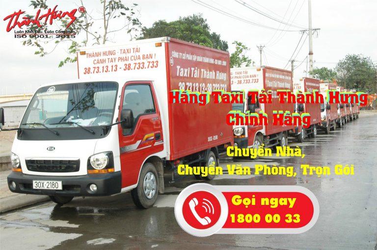 Taxi tải Thành Hưng chuyển nhà trọn gói chuyên nghiệp