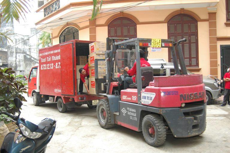Taxi tải Thành Hưng- dịch vụ chuyển nhà trọn gói