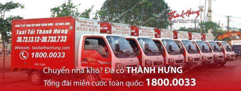 Taxi tải Thành Hưng - dịch vụ chuyển nhà trọn gói