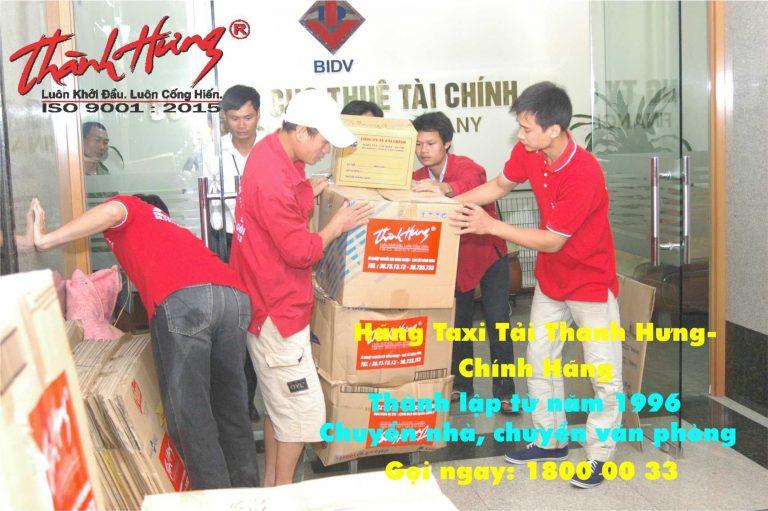 Dịch vụ chuyển nhà trọn gói Hà Nội đi Hà Nam tại Thành Hưng