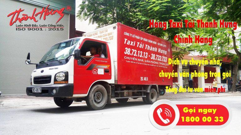 Taxi tải Thành Hưng - chuyên nghiệp chất lượng