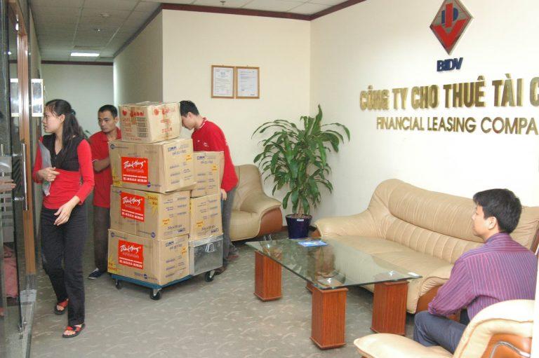 Hãng taxi tải Thành Hưng chuyển nhà trọn gói