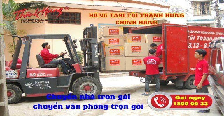 Taxi tải Thành Hưng - giải pháp tối ưu trong vận chuyển