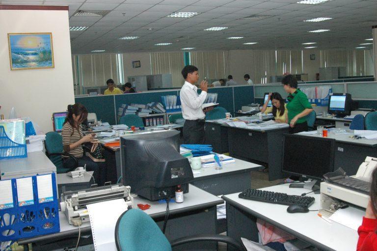 Nhân viên khảo sát dịch vụ chuyển nhà quận 9 Thành Hưng