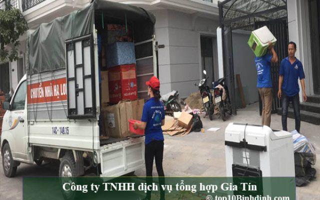 Gia Tín thuộc top công ty chuyển nhà Bình Định chất lượng