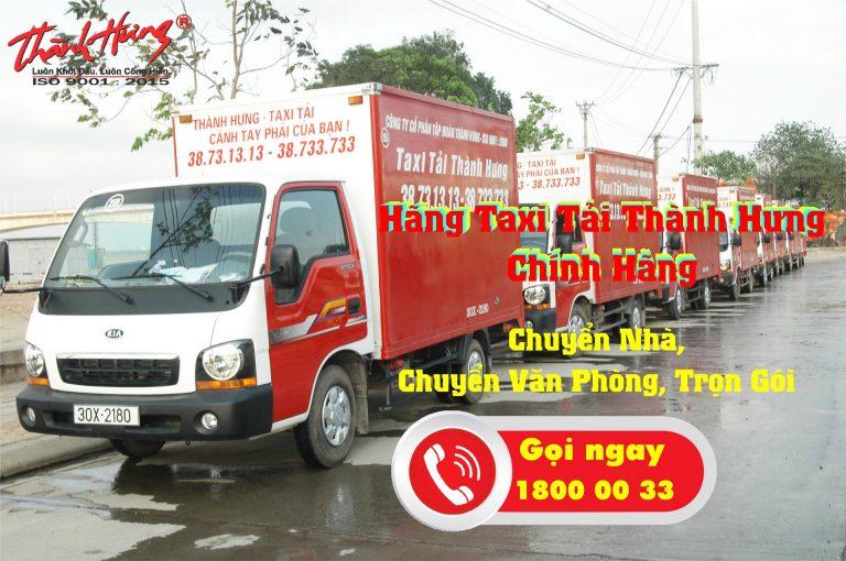 Taxi tải Thành Hưng - dịch vụ chuyển nhà tối ưu