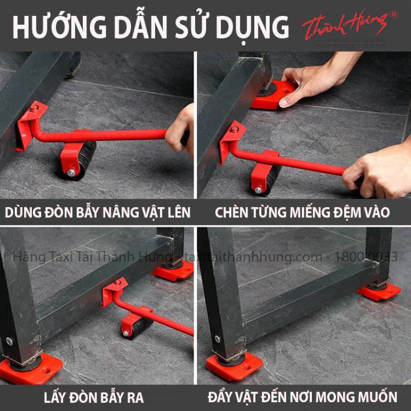 Cách dùng dụng cụ nâng vật nặng lên cao