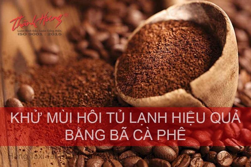 Bí quyết khử mùi từ cà phê