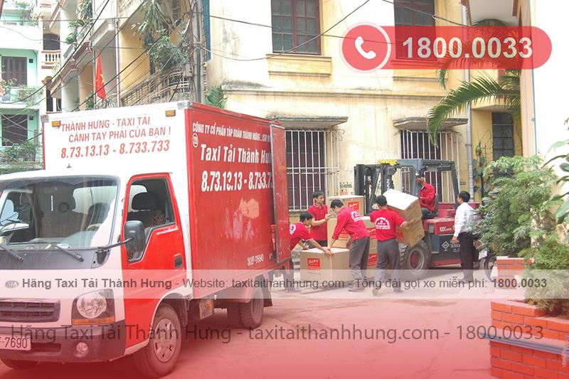 Chuyển nhà trọn gói Thành Hưng uy tín số 1 tại Việt Nam