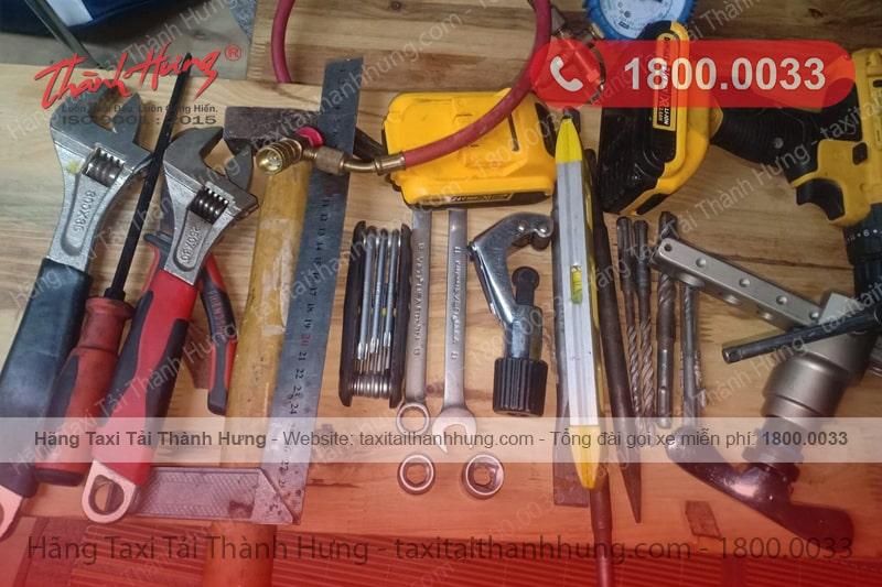 Chuẩn bị dụng cụ trước khi tháo lắp điều hòa tại nhà