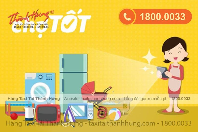 Chotot.com là một trong các trang mua bán đồ cũ uy tín