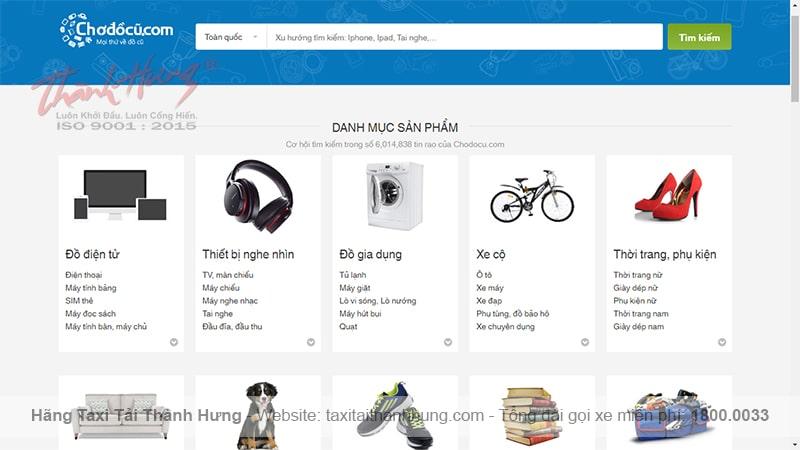 chodocu.com là một trong các trang mua bán đồ cũ uy tín