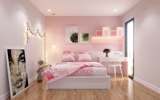 Màu sơn nhẹ nhàng cho không gian phòng ngủ tuổi Mậu Ngọ