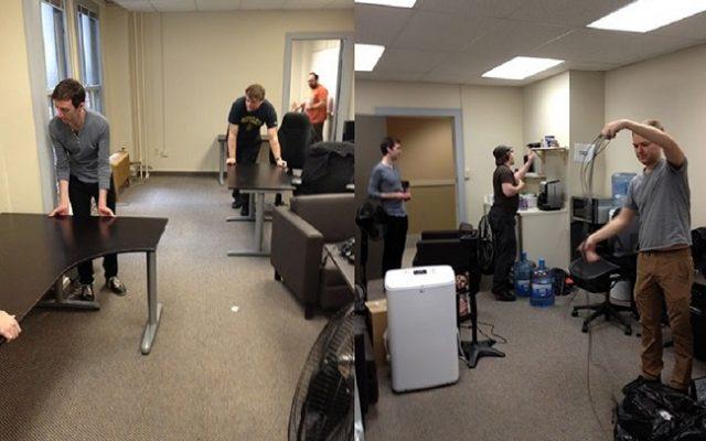 Tháo dỡ lắp đặt bàn ghế đúng cách khi chuyển văn phòng
