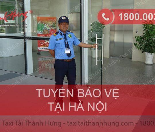 Taxi Tải Thành Hưng cần tuyển gấp nhân viên bảo vệ tại Hà Nội