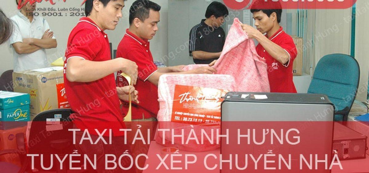 Tuyển nhân viên bốc xếp chuyển nhà tại Hà Nội & TPHCM