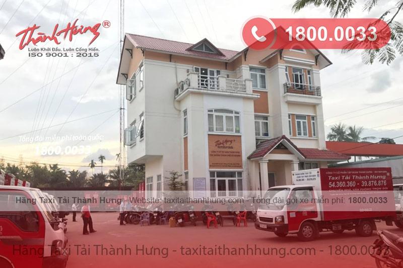 Văn phòng Hãng Taxi Tải Thành Hưng tại chi nhánh TPHCM