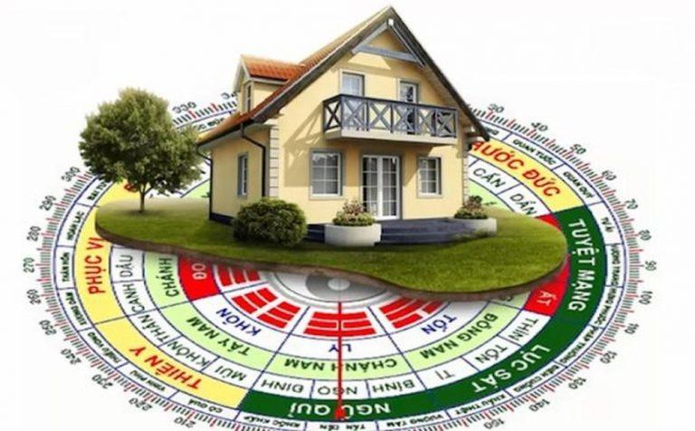 Chọn hướng xây nhà hợp phong thủy giúp thu hút lộc tài